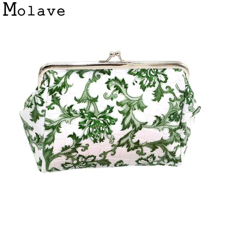 Naivety Alligator PU Leather Coins Purses Floral Printing Coin Purse Small Hasp Wallet Bag 30S71214 drop shipping