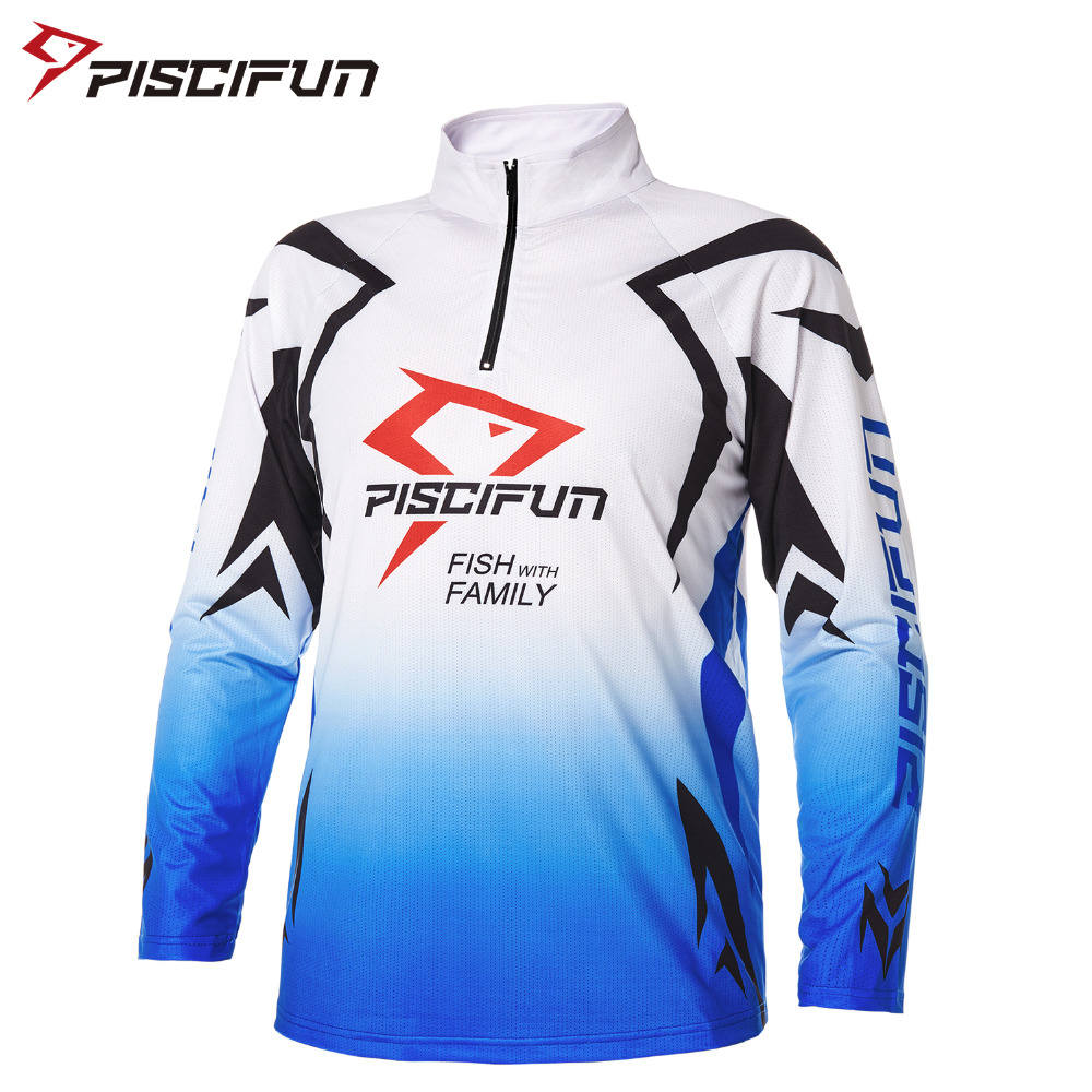 Piscifun New Fishing Clothing Quick-Drying Fishing Shirt Long Sleeve Breathable Outdoor Hiking Cycling Clothes Camisas Pesca men outdoor long sleeve quick drying shirt