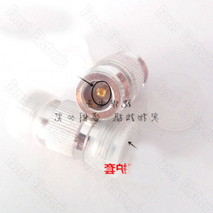 Image 2 - 10pcs/lot  N KK Female To Female Connector Double Pass Adapter External Screw Hole Connector N 50KK