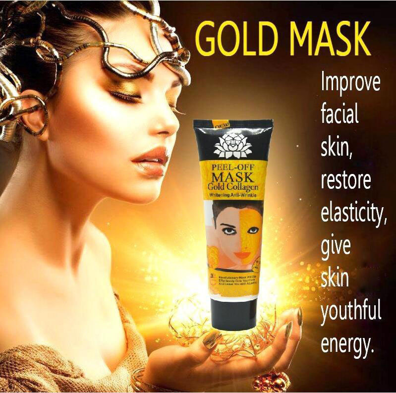 Anti Wrinkle Anti-Aging Facial Mask Face Care Whitening Skin Care Face Face Masks for Girls 24K Golden Mask 1x 60ML 70