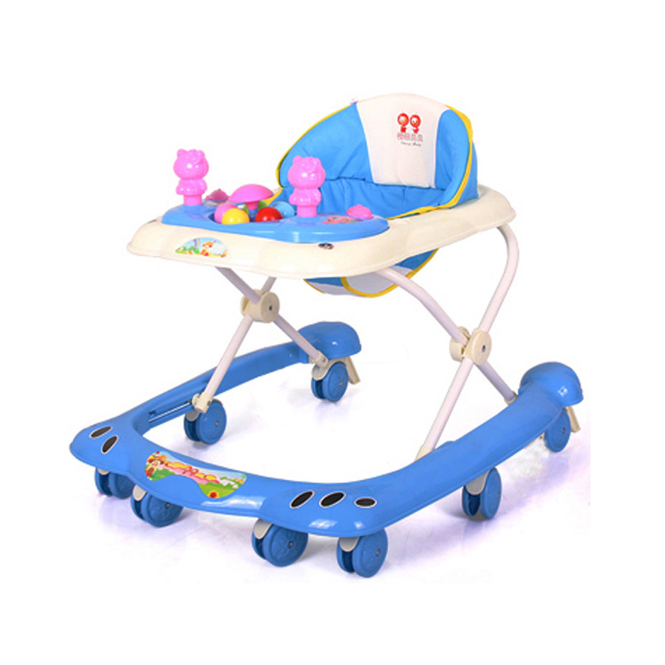 Baby Walker First Steps Push Along Bouncer Activity Cow Music Ride On Girls Boys Baby Walker First Steps Activity Bouncer