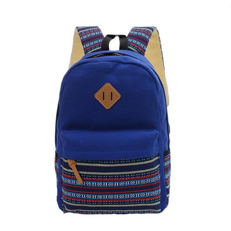 COOL WALKER Canvas Fashion Backpacks Big Women Casual Travel Bag School Backpack For Teenage Girls Laptop Bag Mochila Feminina
