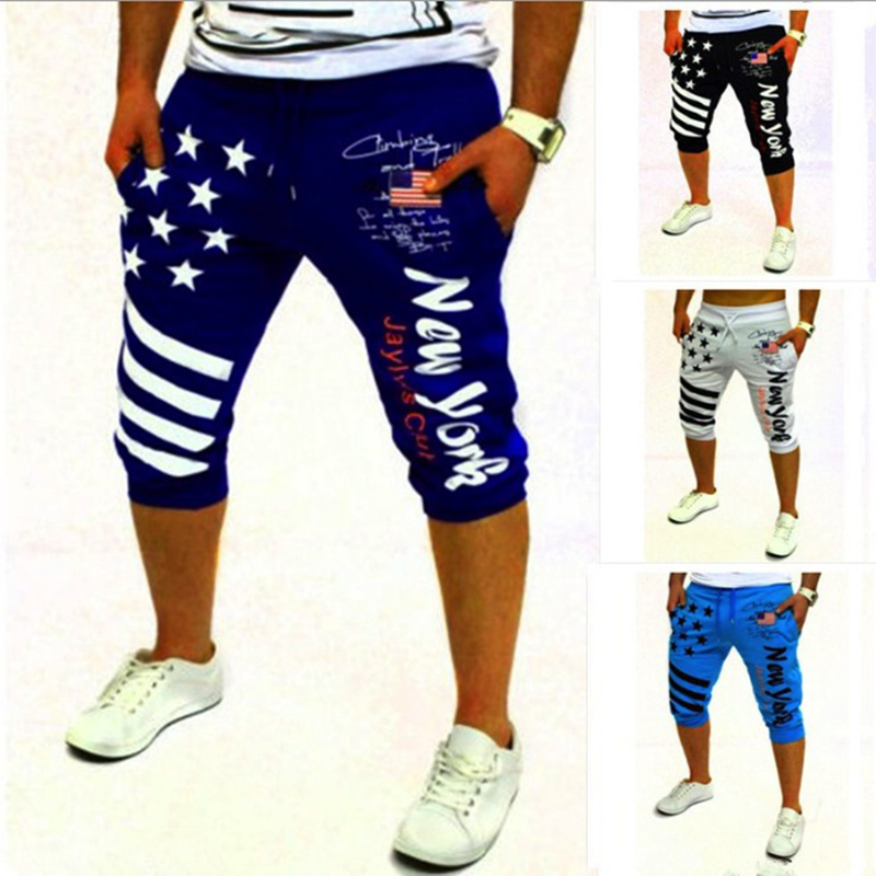 Mens Casual Leisure letter print shorts men slim fit summer fashion brand men shorts cotton beach sexy wear designer shorts