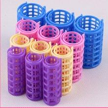 12PCS/SET Plastic Hair Curler Roller Curl Bendy Rollers DIY Magic Curlers Tool Styling Curling