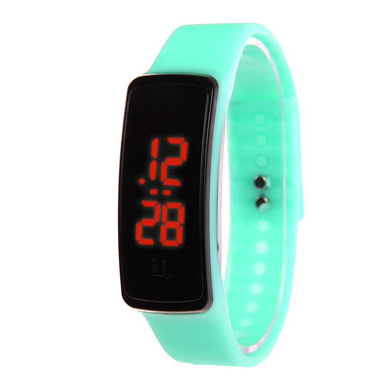 Children's Digital Watches Boys Girls Child Sports Watches Waterproof Outdoor LED Display Silicone Straps Kids Wristwatch Gifts