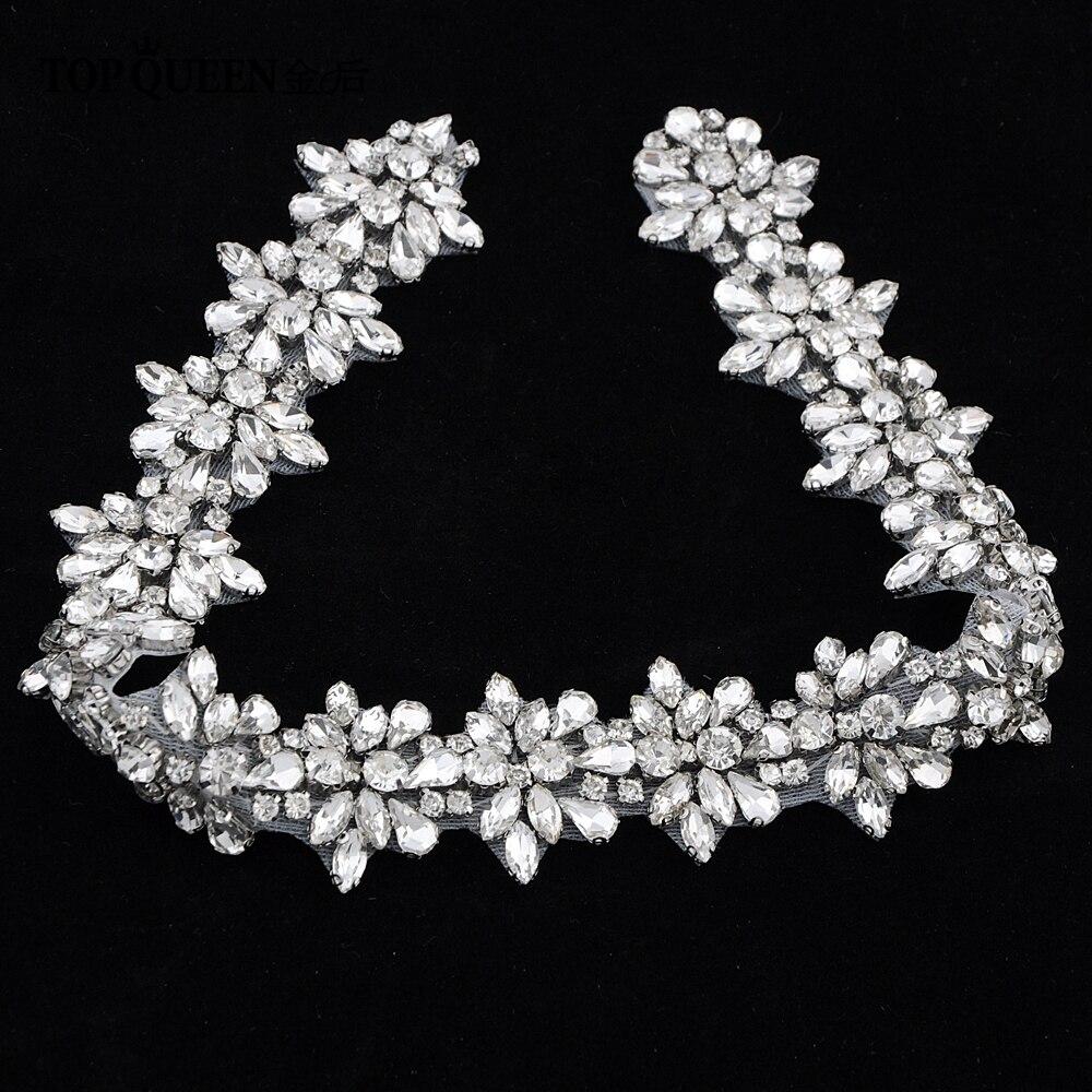 TOPQUEEN S269 Γυναικεία κρυστάλλου Rhinestone - Αξεσουάρ γάμου - Φωτογραφία 4