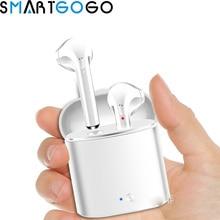 Беспроводной гарнитура Bluetooth наушники i7S СПЦ наушники близнецов наушники с загрузочной коробки наушники для смартфона