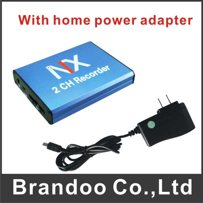 ФОТО Small Size 2CH DVR Mobile DVR Support 128GB SD DVR For Bus Taxi Vehicle Used