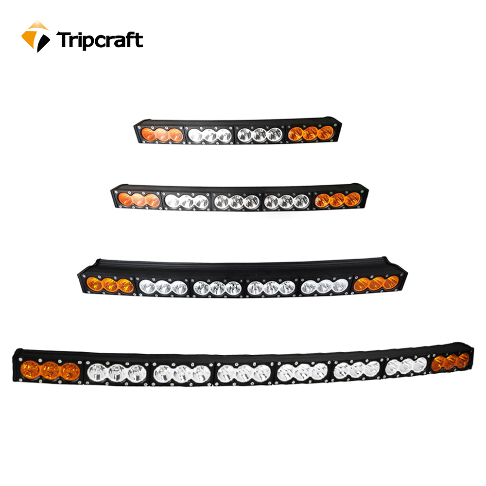 TRIPCRAFT LED WORK LIGHT BAR white amber curved car lamp 120W 150W 180W 210W 240W driving light combo flood spot beam fog lamp tripcraft 120w led work light bar 21 5inch curved car lamp for offroad 4x4 truck suv atv spot flood combo beam driving fog light