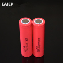 EAIEP new Original 2pcs 2100mAh 3.7v 18650 rechargeable li-ion Battery For ICR18650-21F Toys flashlight tools batteries