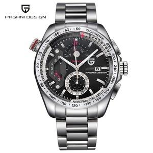 Image 4 - PAGANI DESIGN Mens Watches Sport Quartz Watch Men Dive Waterproof Male Clock Chronograph Military Wristwatch relogio masculino