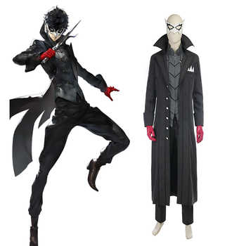 Persona 5 Cosplay Costume Ren Amamiya Cosplay Joker Anime Cosplay Full Set Uniform Halloween Carnival Party Costume Customized - DISCOUNT ITEM  0% OFF All Category