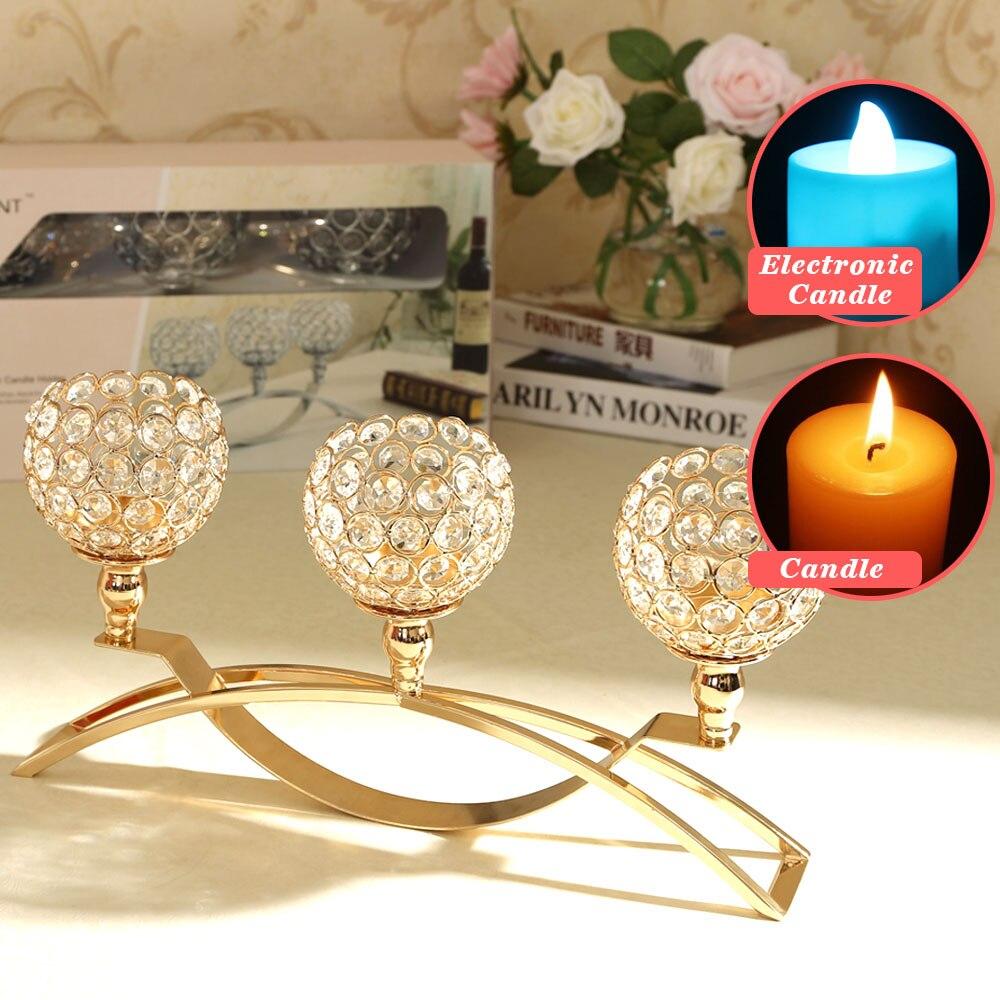 D Coration De Mariage Cristal Bougeoirs Maroc Bougie Lanterne