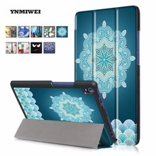 Tablet Cases For Lenovo Tab3 7 Plus TB-7703F TB-7703X TB-7703 Pu Leather Painting Print Unique Design Tablet Cover For Lenovo