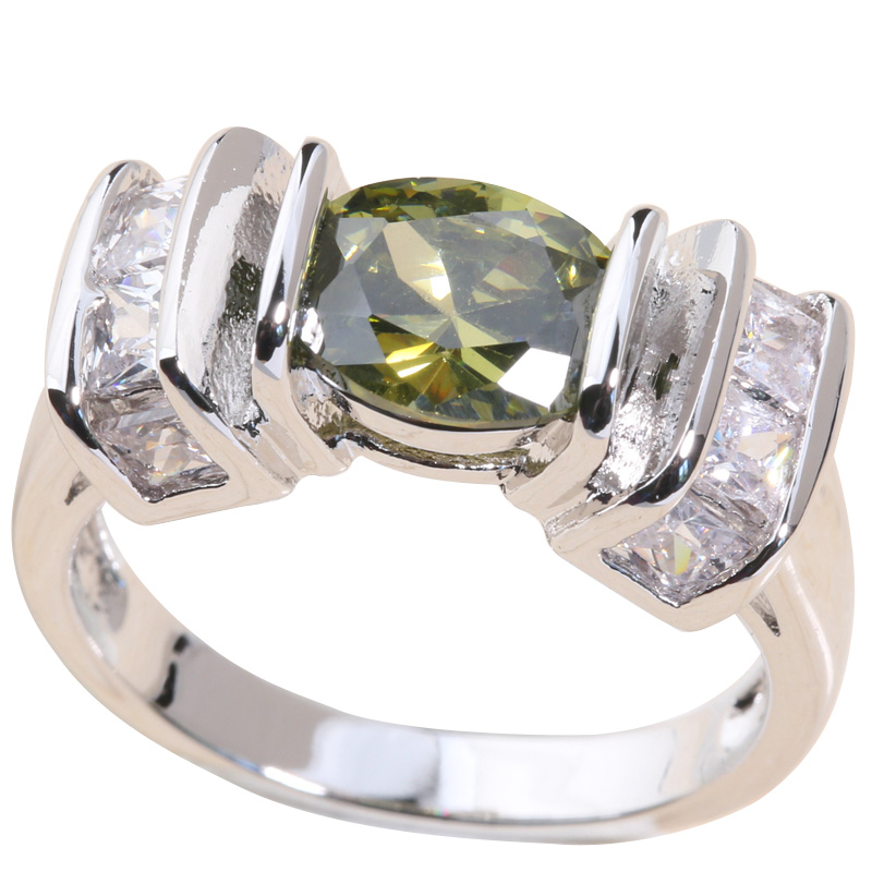Solitaire Oval 5 Color...
