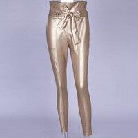 gold pencil pant