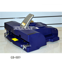 1PC Office manual Stapler Standard Stapler Double Stapler GB H09 Maximum binding thickness 50 sheets (80 g) A3 A4 16 open paper