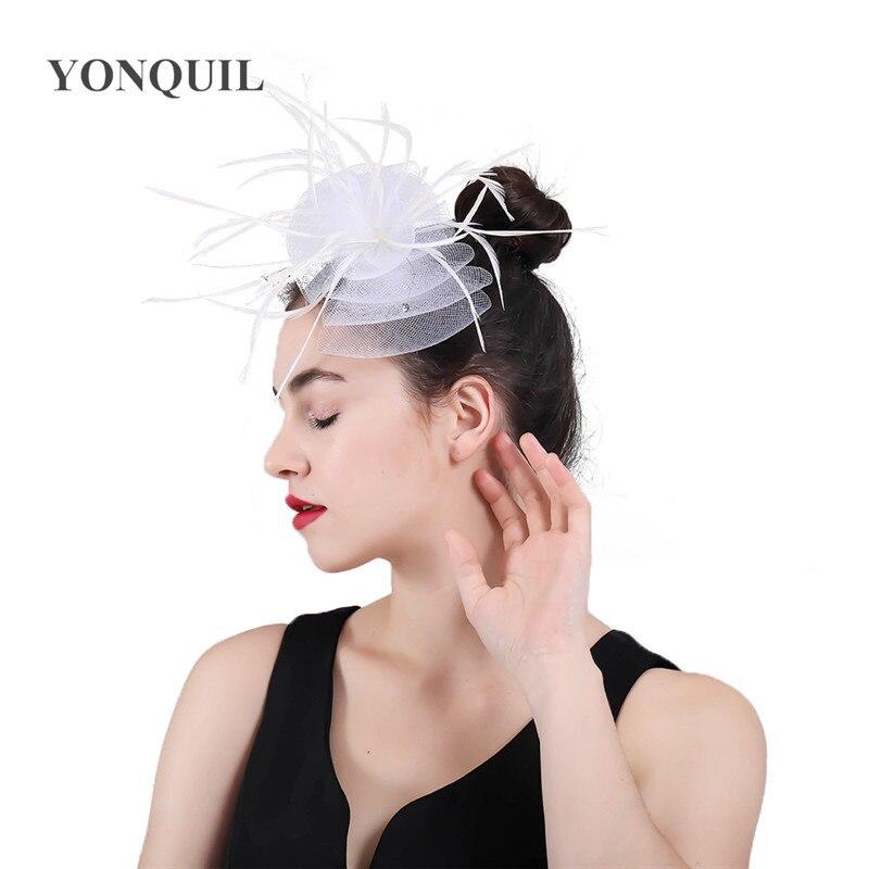 chic mulheres yarh chapéu arco headwear