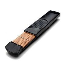 2 PCS of (Pocket Strings Guitar Practice Tool Gadget Novice Expert 4 Fret Model Portable)