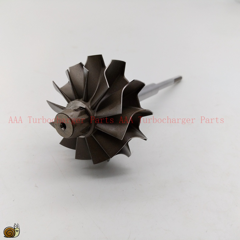 K16 Turbo part Turbine rueda 46x55mm, 5316-970-7008, 5316-971-6501,9040964499, 9040962899,5316-120-5015 AAA Turbocompresores piezas