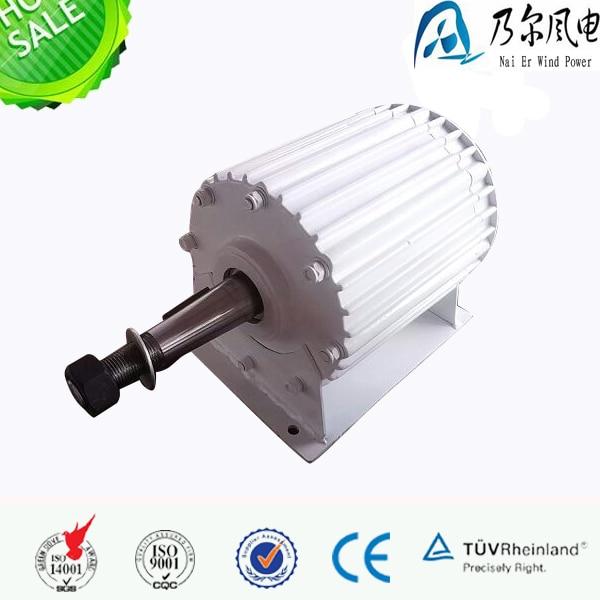 Manufacturer! High efficiency 2kw 48v/96v /110v/220v/230v/240v permanent magnet generator for sale