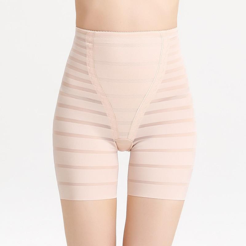 6d9b44bca8 QWEEK High Waist Shapewear Slimming Shorts Seamless Corset Body Shaper Women  Invisible Waist Trainer Underwear Control Pants