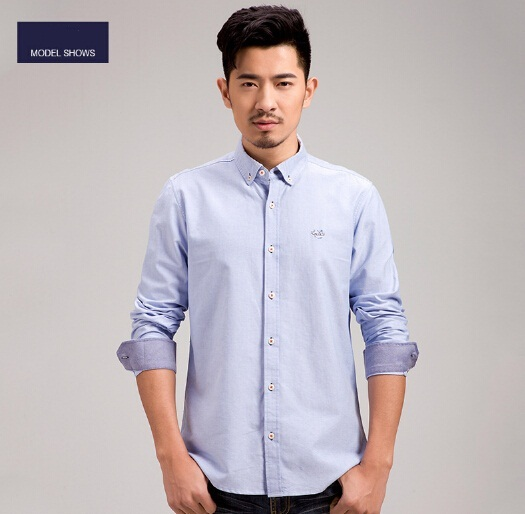 Aliexpress.com : Buy Oxford Shirt Mens 2017 New Fashion Button ...