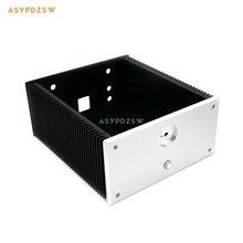 2412B Full aluminum Power amplifier chassis Class A case AMP Enclosure Audio box
