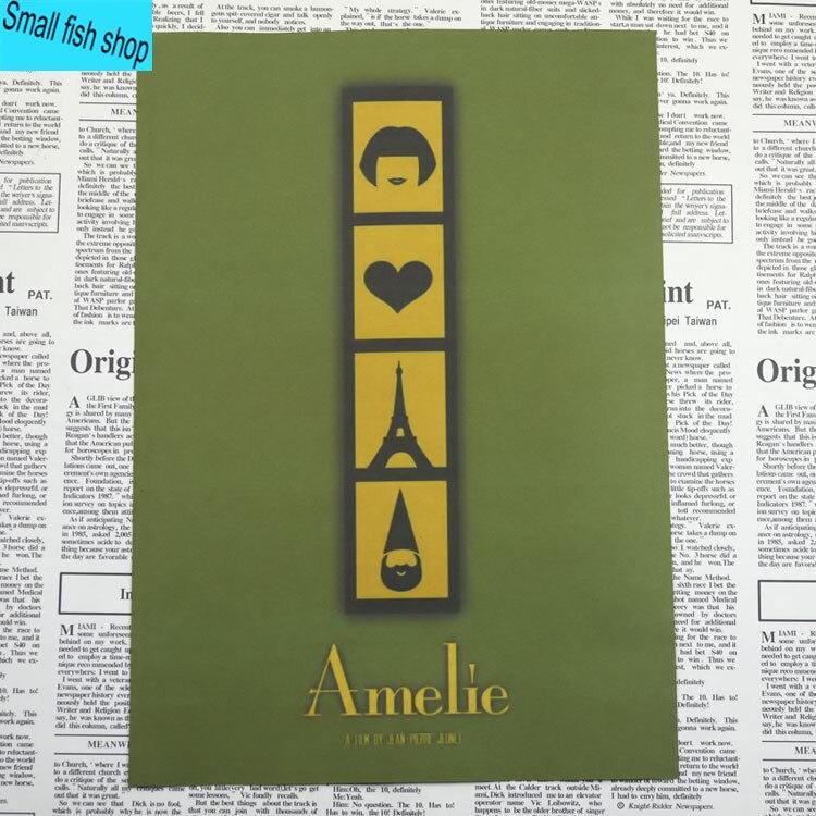 Amelie Audrey Tautou Francuska romantyczna literatura Wyposażenie - Wystrój domu - Zdjęcie 4