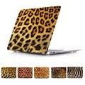 Шкура животного жираф зерна леопарда casefor macbook 11 12 13 15 нью-retina ноутбук чехол