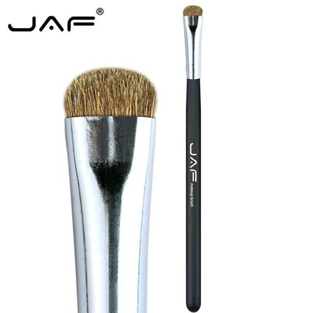 JAF 7pcs Makeup Brush Set High Quality Eyeshadow Eyebrow Eye Brushes Natural Animal Hair Make Up Brush Cosmetic Tool 25#701 3