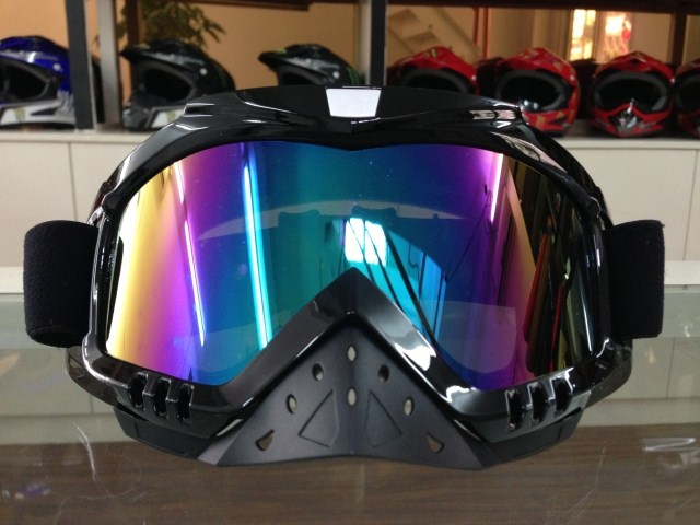 free shipping Personalized Off road cross motorcycle helmet goggles motorcross skating skiing snow goggles in winter