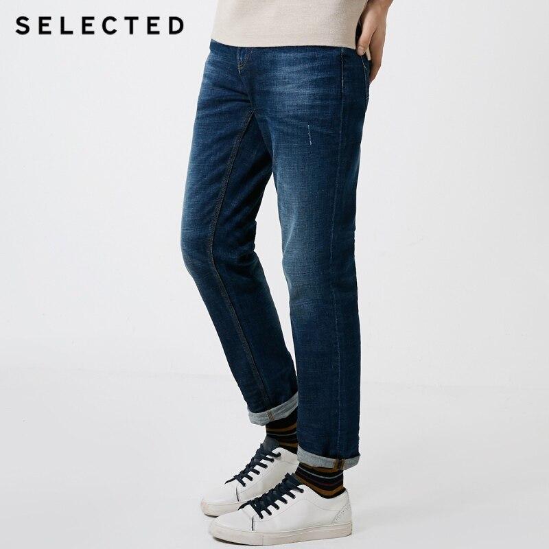 SELEZIONATO degli uomini di Inverno misto Lana Tratto Leggero Etero Fit Jeans C  418432521-in Jeans da Abbigliamento da uomo su  Gruppo 1