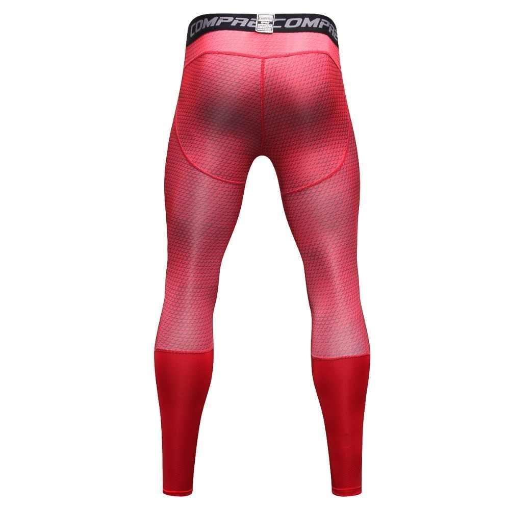 6d67ad5c5d899 ... Red/blue/grey/white/black/bodybuilding men's leggings, large size ...