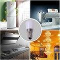 Frigorífico Lâmpada E14 220 V 3 W COB regulável LED Mini Luz Da Noite para a Máquina De Costura de Microondas Geladeira Freezer Chandelier iluminação