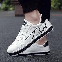 Men Casual Shoes Luxury Brand Fashion White Sneakers Men Leather Breathable Male Soft Casual Walking Footwear Krasovki Men 2018