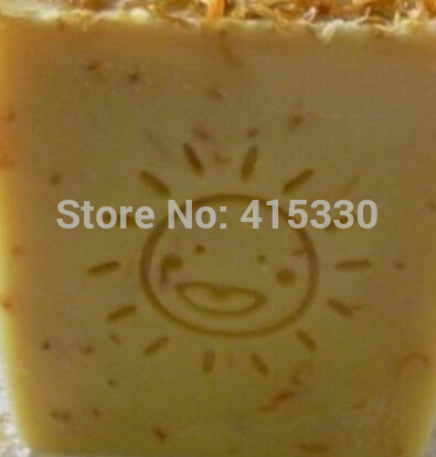 Cute Sun Handmade Tree Resin Soap Stamp Seal Soap Mold Mould 3x3cm soap handmade resin soap stamp seal soap mold mould 1 97 x1 57