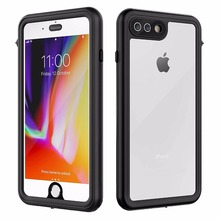 For iPhone 7 8 Plus Waterproof case life water Shock Dirt Snow Proof Protection for With Touch ID Case Cover