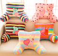 Candice guo plush toy stuffed doll cartoon bear teddy rabbit bunny craftholic waist pillow office nap rest cushion birthday gift