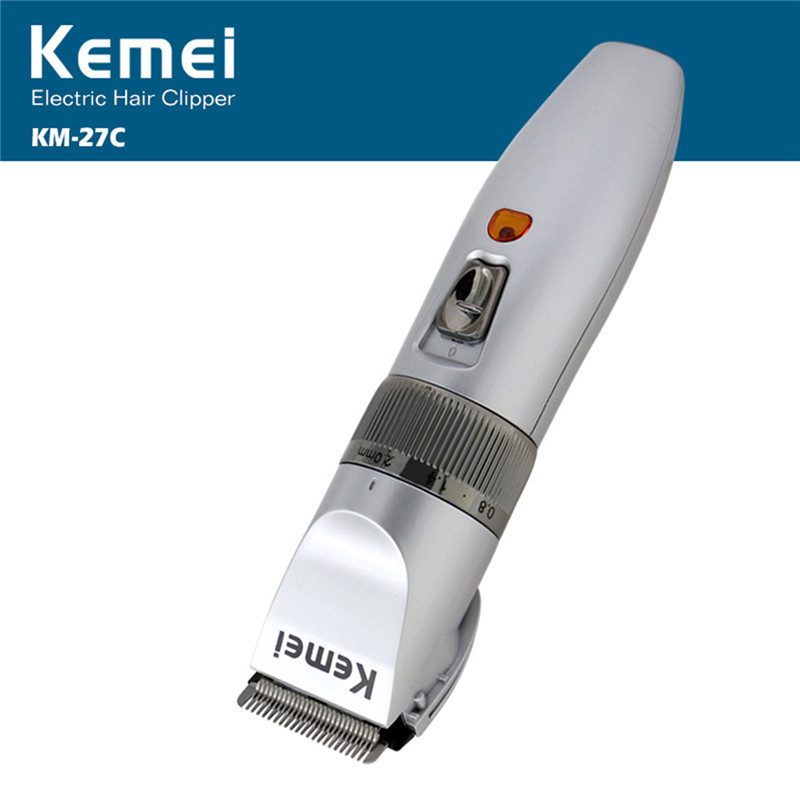 Kemei Electric Waterproof Hair Clipper Trimmer Professional Rechargeable  Hair Cutting Machine Shaver Razor  Adjustable Clipper kemei 1832 new cutter cutting hair electric machine rechargeable hair clipper trimmer shaver razor cordless adjustable $5k