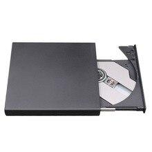 Портативный Размеры Plug & Play внешний диск USB 2,0 горелки CD + RW DVD Reader Встроенная память CD писатель подходит для Mac для Win7/8/10