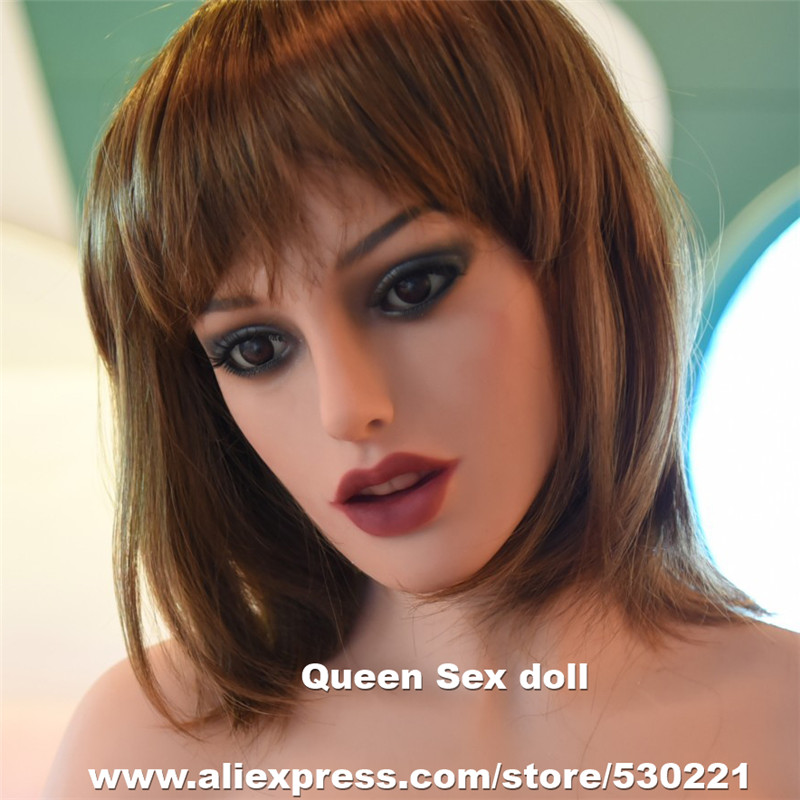 NEW Top Quality WMDOLL Head For <font><b>Tpe</b></font> <font><b>Sex</b></font> <font><b>Doll</b></font> Realistic Sexy Love <font><b>Dolls</b></font> Heads With Oral <font><b>Sex</b></font> Can Fit For Body From <font><b>140cm</b></font> to 172cm image