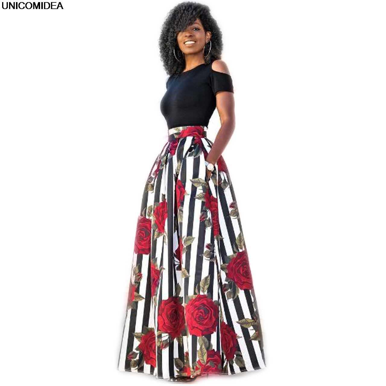 f73deaa0b4 Two Pieces Dress Women Short Sleeve Robe Long Flower Floral Dress Vestidos  Long Women Female Girls