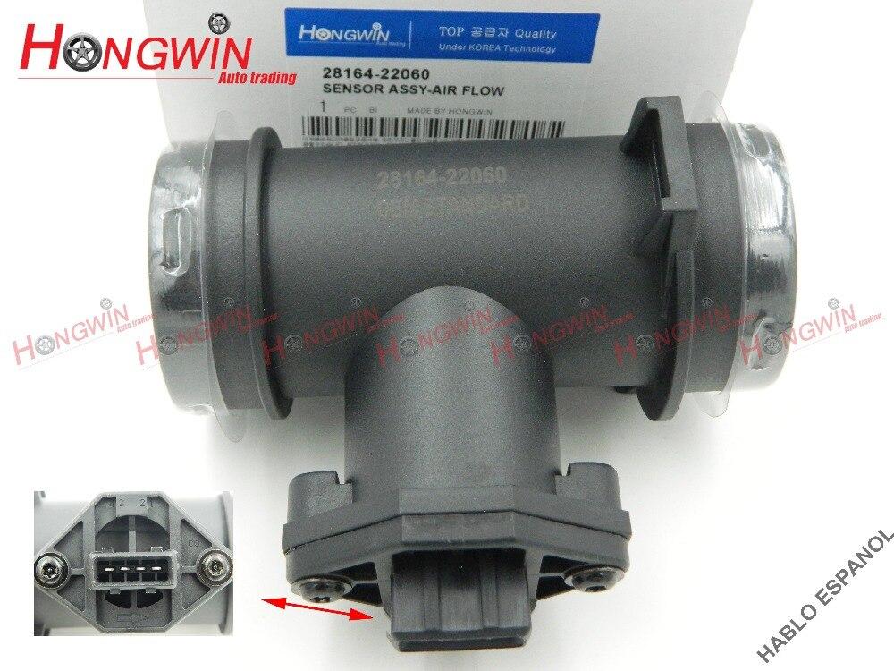Fits Hyundai Elantra 28164-27000 New Mass Air Flow Sensor MAFS