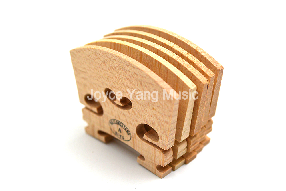 10pcs Maple Violin Bridge 4/4 3/4 1/2 1/4 1/8 Advanced Craft High Quality Violin Accessories Free Shipping