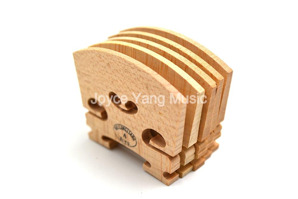 10pcs Maple Violin Bridge 4/4 3/4 1/2 1/4 1/8 Advanced Craft High Quality Violin Accessories Free Shipping