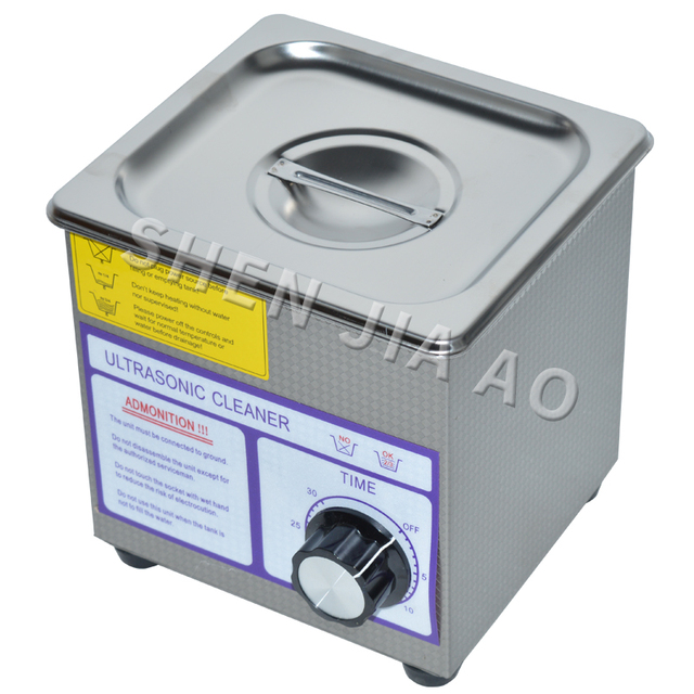 Ultrasonic bath PS-08T AC110/220V Digital Ultrasonic Cleaner  60w 40khz 1.3L For Jewelry ,Gleases ,Watches