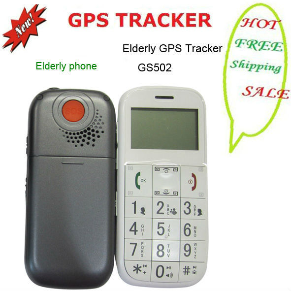 Free shipping GPS tracker sos phone GS503 GPS tracker phone GPS tracking system