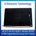 Genuine NEW Retina A1398 Mid 2012 No Início de 2013 Para A Apple Macbook Tela de LCD Full Assembléia MC975 MC976 MD831 ME664 ME665 trabalhando