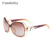 Gafas de Sol polarizadas Las Mujeres Diseñador de la Marca de la Señora Femenina de Lujo gafas de Sol UV400 Clásico Femenino